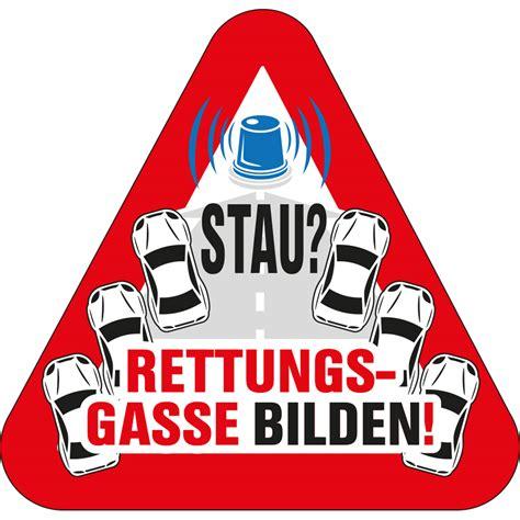 Aufkleber Rettungsgasse Kaufen by Aufkleber Rettungsgasse 8cm X8 Cm Kaufen