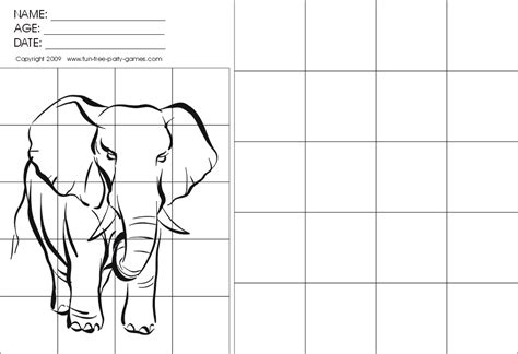 printable graph art grid drawing worksheets drawing with grids activity