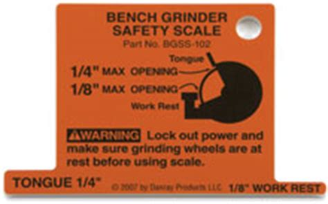 bench grinder safety rules danray products llc safety scales