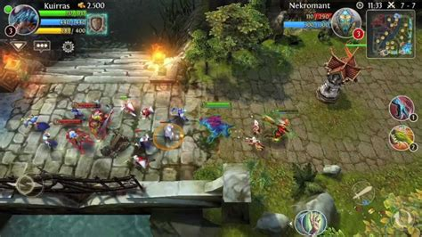 moba for android review heroes of order chaos great moba for ios android