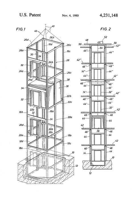 elevator in section elevator section drawing related keywords elevator