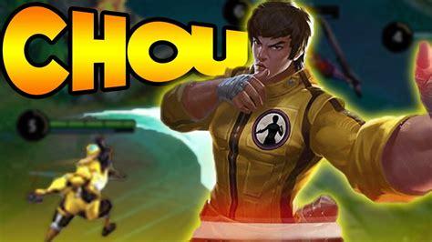 chou mobile legend mobile legends chou new the kung fu boy