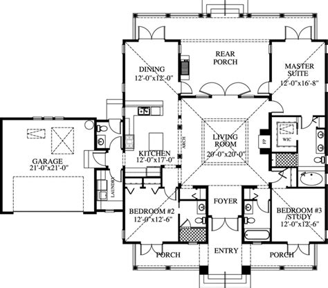 monster house floor plans florida style house plans 1997 square foot home 1