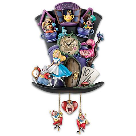 disney alice in wonderland mad hatter light up cuckoo