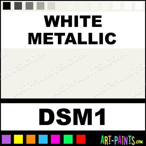 white metallic sosoft metallics metal paints and metallic paints dsm1 white metallic paint