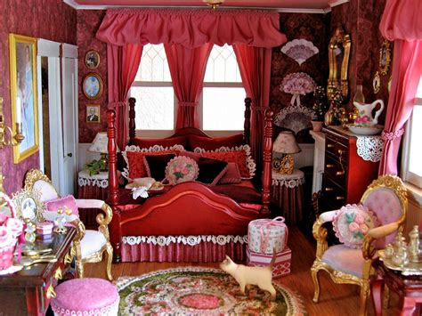 7 room dollhouse blukatkraft dollhouse bedroom and bathroom 1