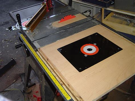 router table saw flickr photo