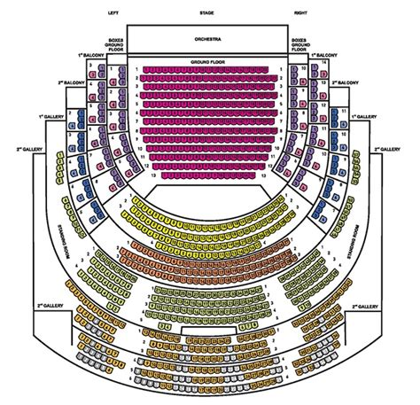 national theatre floor plan seating plan and ticket prices the national theatre