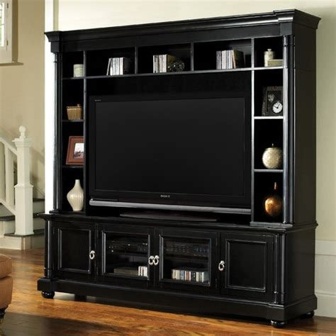 princeton entertainment center modern display and wall
