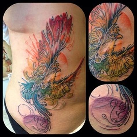 watercolor tattoo needle best 25 watercolor ideas on