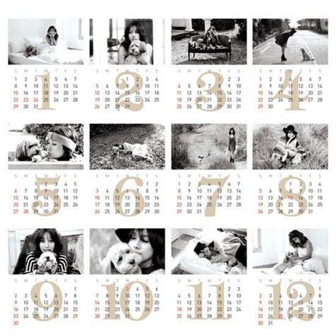 Calendario Kpop Kpop Images Hyori Eco Project 2012 Calendar With