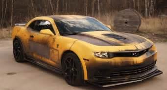 Bumblebee Chevrolet Chevrolet Camaro Gets Bumblebee Custom Wrap Gm Authority