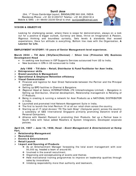 indian accountant resume sle pdf cv template pdf image collections certificate design and template