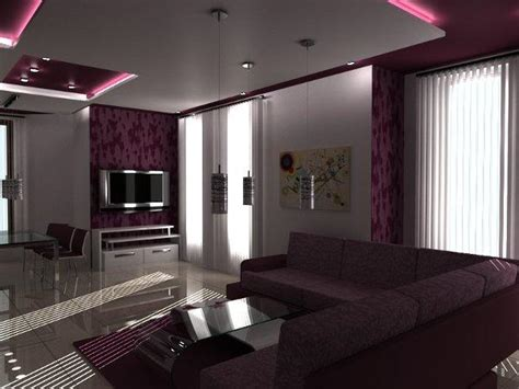 Purple Interior Design Purple Interior Designs Living Room Interior Home