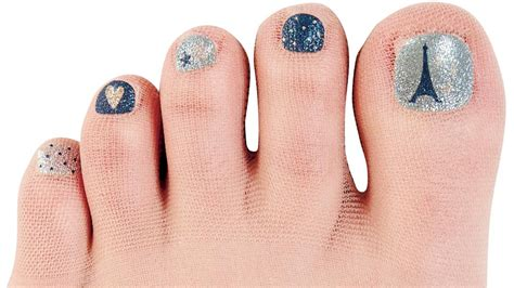Nail Shine Pedi Murah 6 Step pedicure nail printed on so you can