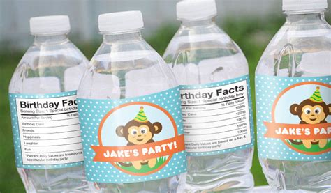 mineral water label template water bottle labels award winning quality stickeryou