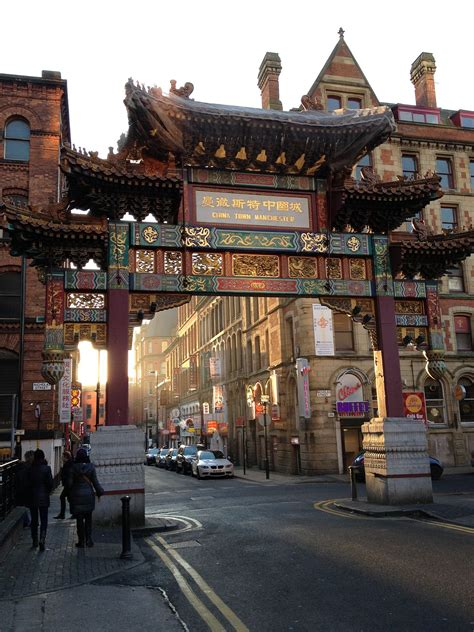 in manchester chinatown manchester