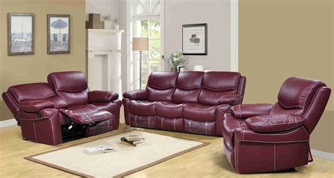 reclining leather sofa sets reclining leather sofa set morrell leather reclining