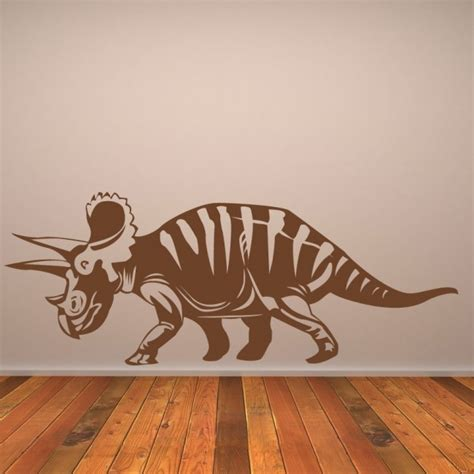 dinosaur decals for bedroom triceratops wall sticker jurassic dinosaur wall decal kids