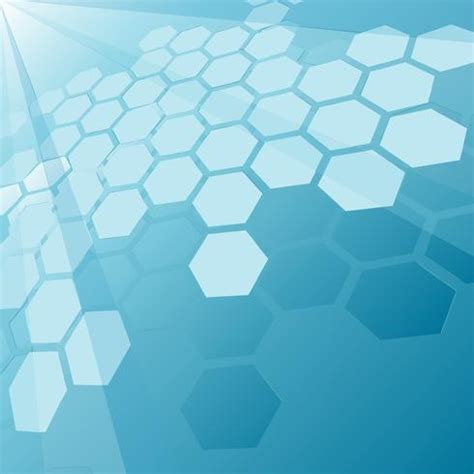 Top Abstract Navy Blue Hexagon Pattern Background Design | modern vector background