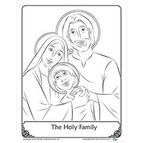 printable coloring pages holy family coloring page the holy family coloring pages