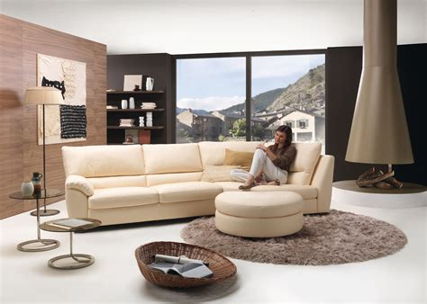 Living Room With Modern Klaus Sofa Stylehomes Net Modern Living Room Sofa