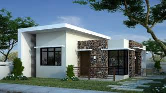 house and floor plans modern bungalow house designs and floor plans for small