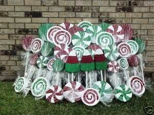 outdoor christmas candyland yard decorations pinterest
