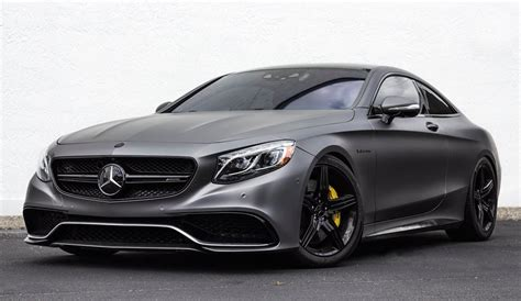 Mercedes Matte Black by Renntech Mercedes S63 Amg Coupe Returns In Matte Black