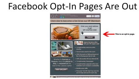 opt in page templates timeline for fan pages derek