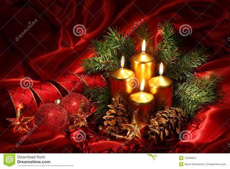 imagenes navidad velas velas de la navidad imagen de archivo imagen de