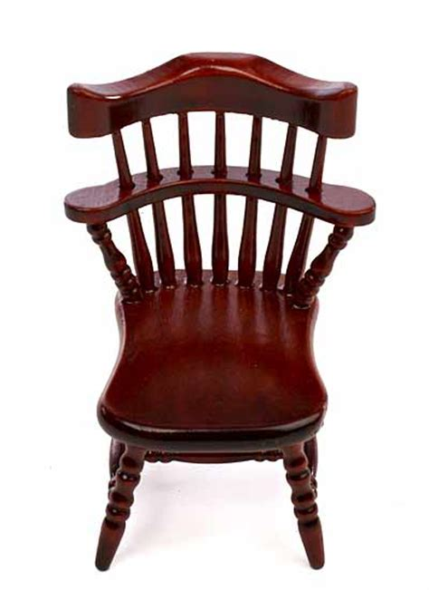 Captain Dining Chairs Dollhouse Miniature Wood Dining Room Captain S Chair What S New Dollhouse Miniatures Doll