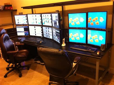 Dual Desk Office Ideas by One Of The Most Successful Penny Stock Trader S Computer