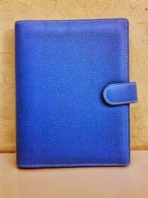 Binder Polkadot Biru Custom 26 Ring kalau yang ini binder polos cocok buat semua kalangan j