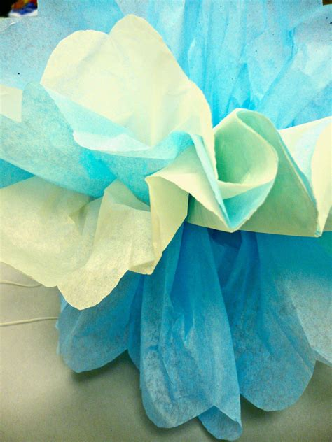 How To Make Tissue Paper Puffs - how to make tissue paper puffs 28 images one crafty