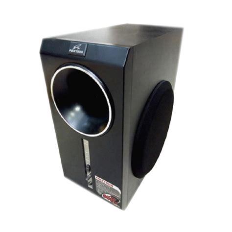 Speaker Stereo Polytron jual polytron psw 700 subwoofer speaker hitam