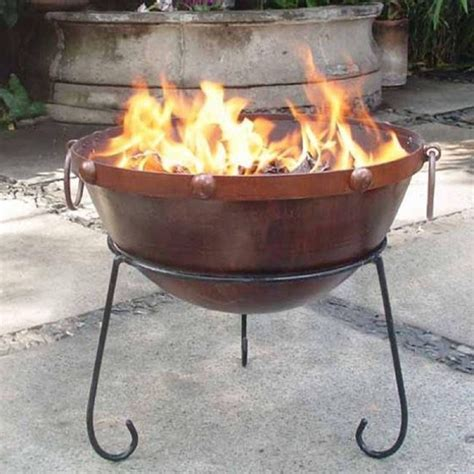 Firepit Uk Rustic Steel Pit Bowl Garden Incinerator Savvysurf Co Uk