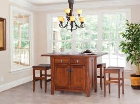 Furniture Style Kitchen Island by Design Your Own Custom Amish Made Kitchen Island Mission