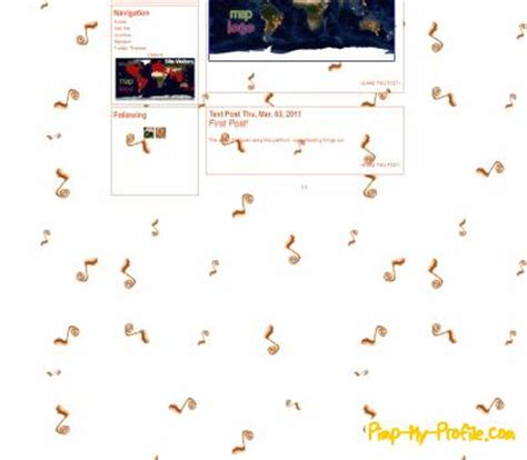 free themes for tumblr with profile picture music notes tumblr themes pimp my profile com