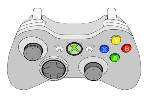 Drawing Xbox Controller by Playstation 1 Controller Drawing Www Pixshark