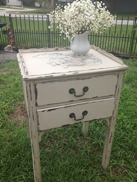 chalk paint using vaseline distressed with vaseline painted with chalk
