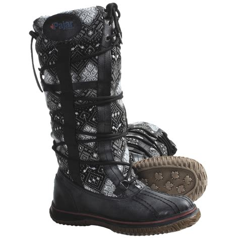 pajar crosby 3 boots leather wool for save 38