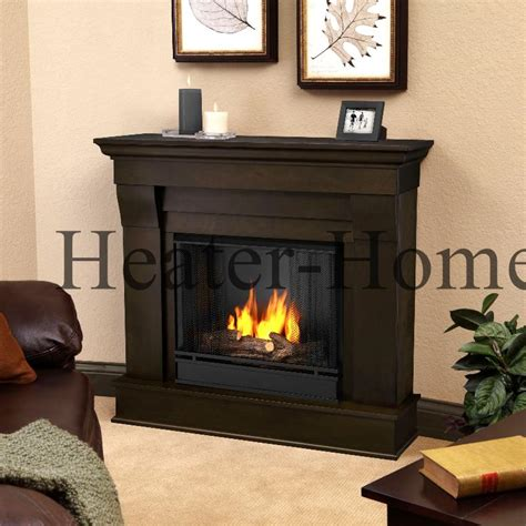 Gel Burning Fireplace by 5910 Real Chateau Indoor Gel Fireplace With Painted Log Set