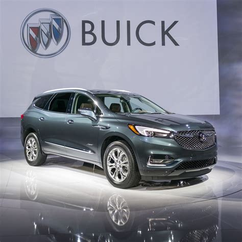 New Buick 2018 by 2018 Buick Enclave Avenir Info Specs Features Gm Authority