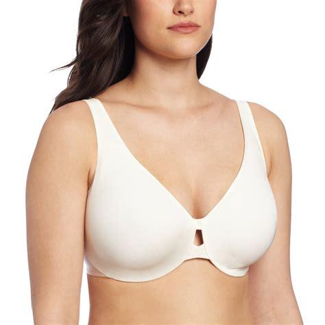 comfortable minimizer bras lilyette 174 women s plunge into comfort keyhole minimizer bra