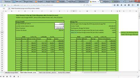 kalkulator kredit template akuntansi pajak dan komputer kalkulator kredit