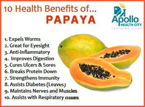 Papaya For Health And by Health Benefits Of Papaya