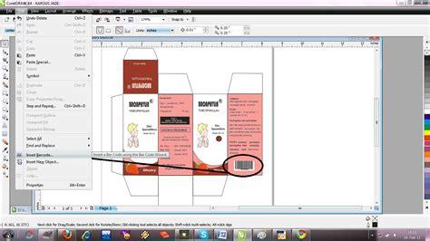 desain kemasan menggunakan corel draw membuat design kardus obat dengan corel draw t h a n t i