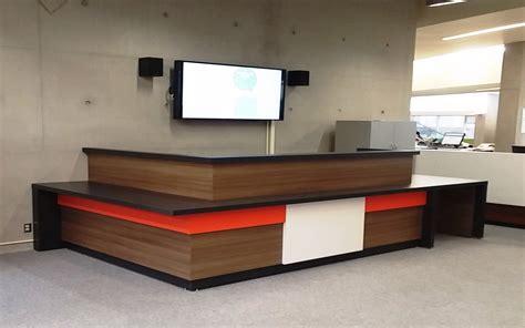 colored desks reception desks david office furniture manufacturing
