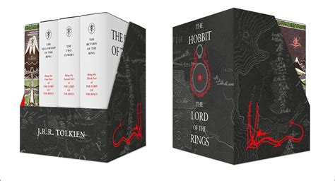 the tolkien treasury harpercollins releases deluxe boxed set of the hobbit and the lord of the rings the tolkien